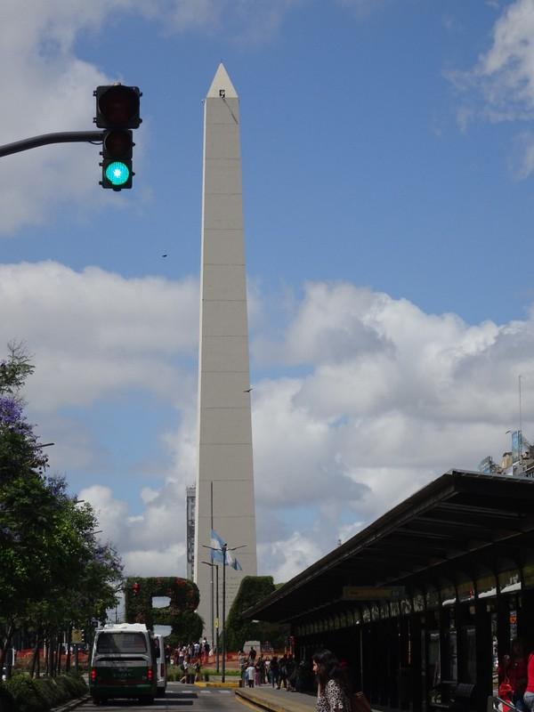 Avenida 9 de Julio - Obelisco