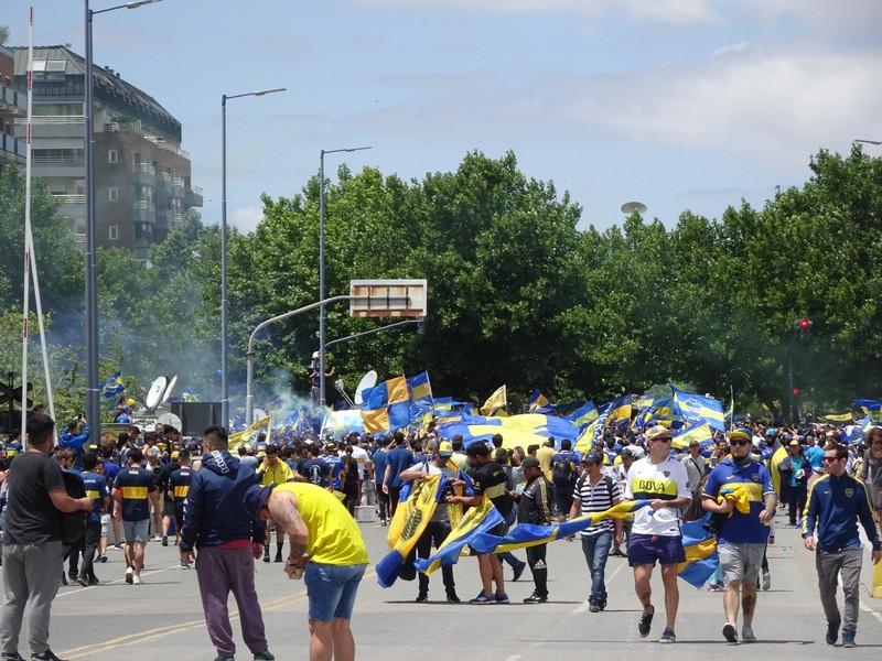 Puerto Maduro - Boca Juniors fans