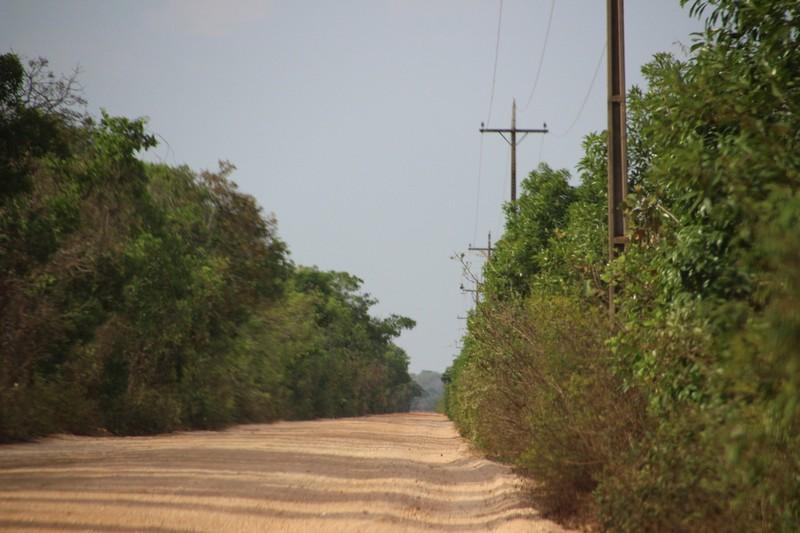 Returning to Cuiaba on the Transpantanaira