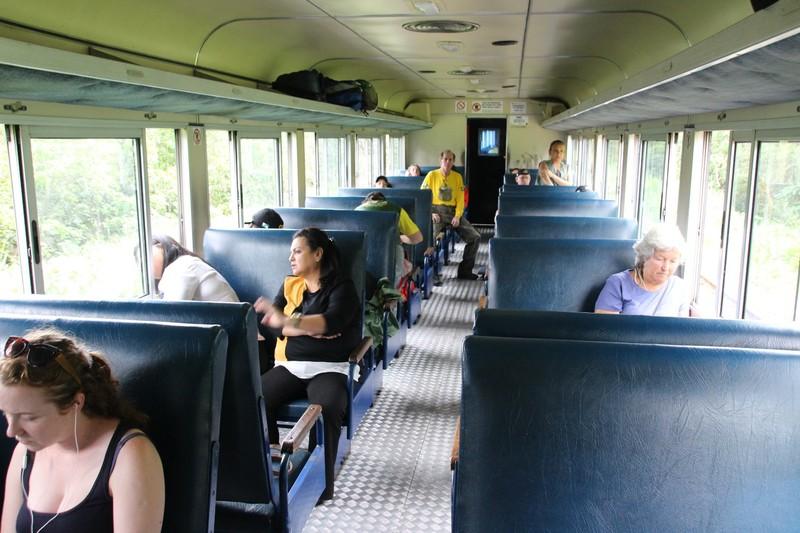 Serra Verde Express - Economy class carriage