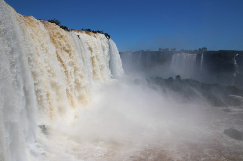 Iguacu Falls (Brazil side) - at the side of the falls