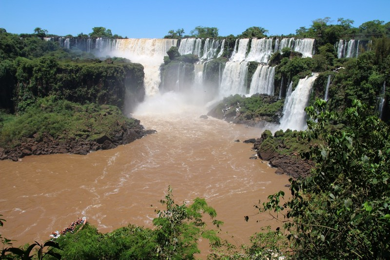 Iguazu Falls Argentina - Circuit Inferior