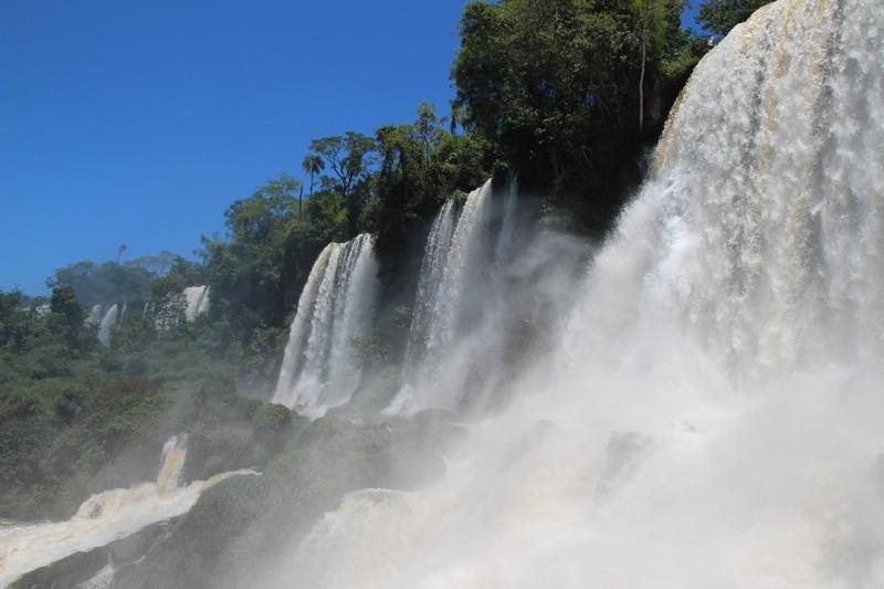 Iguazu Falls Argentina - Circuit Inferior - Bossetti falls