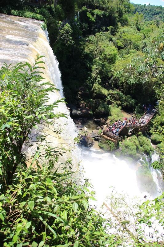 Iguazu Falls Argentina - Circuit Superior - Bossetti falls