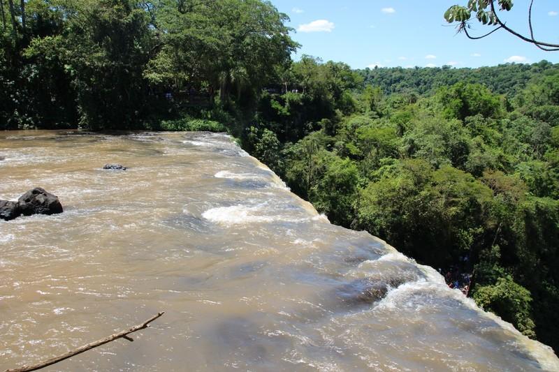 Iguazu Falls Argentina - Superior Circuit - at Bossetti Falls