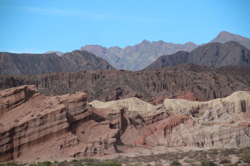 On the way back from Cafayate