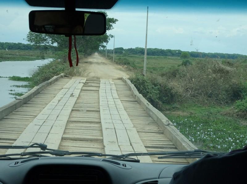 Pantanal Part 1 - Jaguar Extreme Tour: Transpantanal Highway - Bridge!