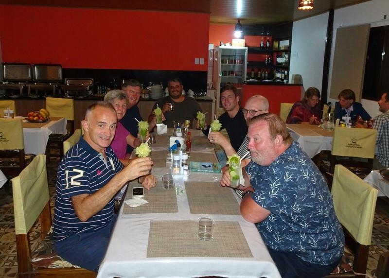 Pantanal Extreme Tour - Caipirinhas all round - Cheers!