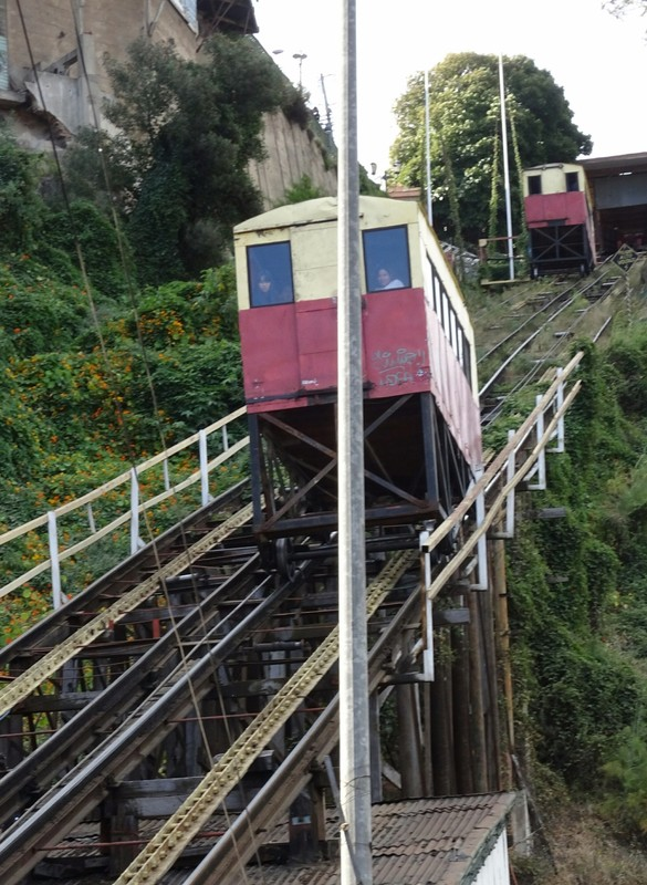 Ascensor up to Cerro Artilleria