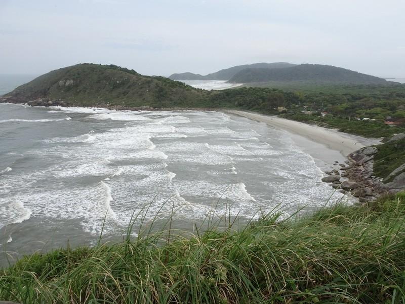 Playa de Fora from Farol das Conchas