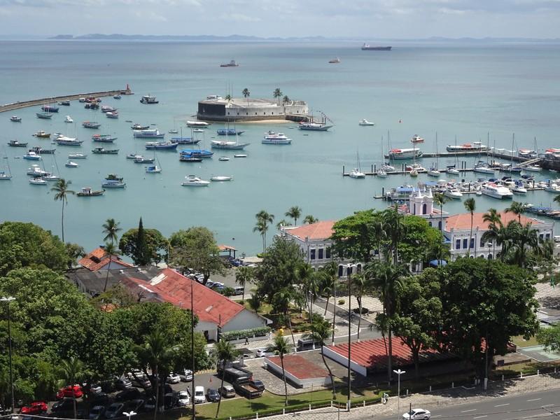 Salvador port area