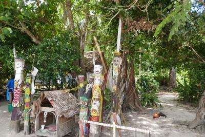 Sea gypsy village entrance