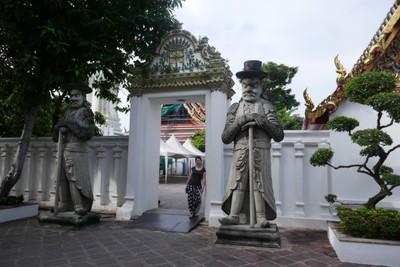 Guardian Gate at Wat Pho
