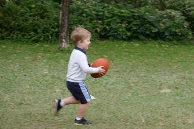Arthur on the run
