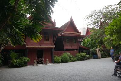 Courtyard at Jim Thompson house
