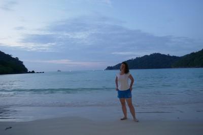Orsi on beach
