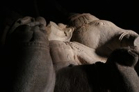 Detail of giant Ganesha statue