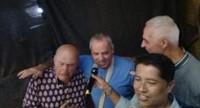 Lee, Garry and Inbelting out karaoke