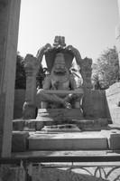 6.7m high Lakshmi Vishnu statue