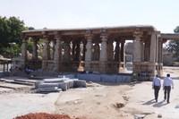 Temple on Hemakuta hill