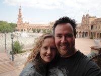 Us in Plaza Espana