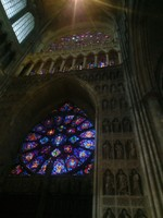 Interior of the catherdral of Reims