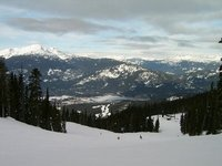 Whistler from Blackcomb in British Columbia