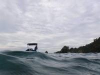 Little Boat, Big Ocean. Scary!