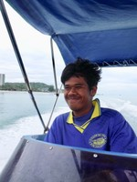 Our Earnest Boat Driver