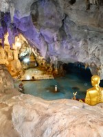 In the Cave Temple- Wat Tham Khao