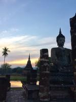Sunset Over Sukhothai