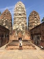 Replica Khmer Temple Ruins