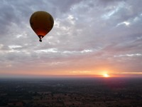 Beautiful Sunrise Balloon Ride!