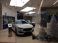Maserati in Shopping Mall