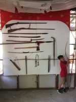 T Loved the Weapon Display