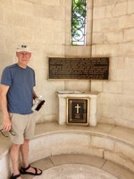 Mark Honoring WWII soldiers