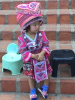 J'lene's Photos of Hill Tribe Child 2019 2