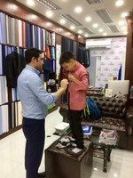 At Woolrich Tailor Shop - Silom