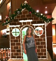 Sheraton Gingerbread House in Progress