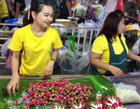 Bangkok Flower Market 4