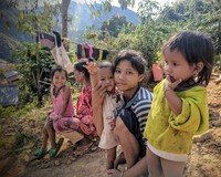 Children of the Hill Tribe, Huay Pralam, Laos