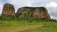 rock formations near Cerro Cora National Park