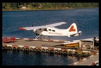 Beaver floatplane in Port Hardy