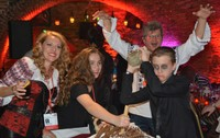 Halloween Party in Transylvania with families
