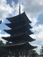 Pagoda in Nara Park