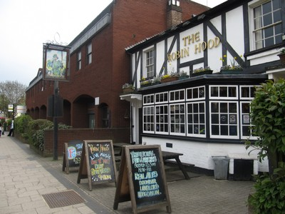 The Robin Hood pub