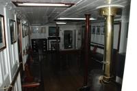 Display, Buque Corbeta ARA Uruguay, a museum ship in Puerto Madero