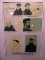 Portraits of the crew on one of the ship's Antarctic voyages