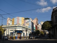 Spot the mural of Carlos Gardel in the sub-barrio of Abasto
