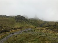 Hiking to the Old Man of Storr